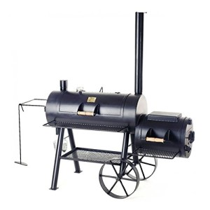 "Joe's 20"" Reverse Flow Smoker lang"