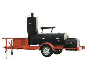 Joe´s Barbeque Smoker - Extended Catering - Smoker-Trailer